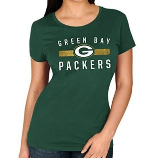 Majestic Green Bay Packers Women's Franchise Fit Short Sleeve Tee