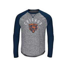 Majestic Chicago Bears Men's Corner Blitz Long Sleeve Tee
