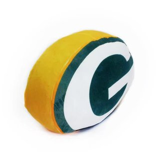 """Northwest Green Bay Packers Cloud Pillow- """"G"""" Shaped"""