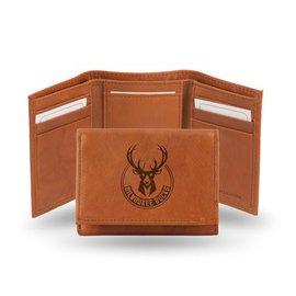 Milwaukee Bucks Leather Trifold Wallet 7eba60237b08