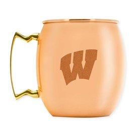 Duck House Wisconsin Badgers 16 oz Moscow Mule Mug