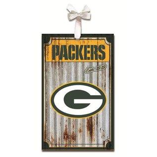 Evergreen Enterprises Green Bay Packers Metal Corrugated Ornament