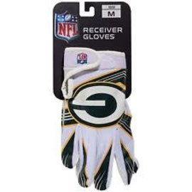 Franklin Sports Green Bay Packers Youth Receiver Gloves