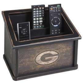 Green Bay Packers Distressed Media Organizer