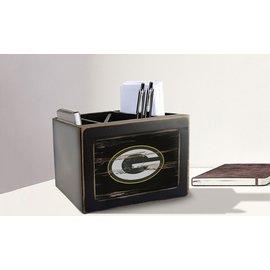 Fan Creations Green Bay Packers Distressed Desktop Organizer