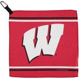 Wisconsin Badger Waffle Towel
