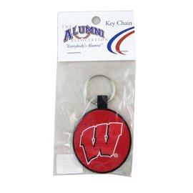 Wisconsin Badgers Key Tag Keychain