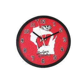 Wisconsin Badgers Homestuff Clock