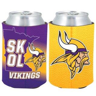Minnesota Vikings SKOL 2FER Can Cooler