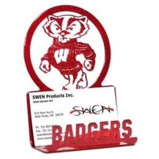 Wisconsin Badgers Business Card Holder