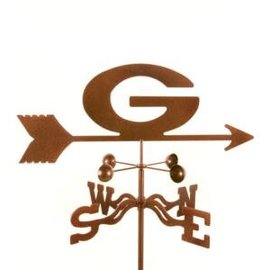 Green Bay Packers Copper Weathervane