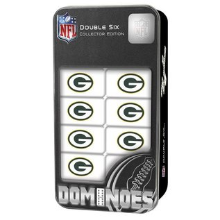 Green Bay Packers Double Six Dominoes