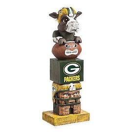 Evergreen Enterprises Green Bay Packers Totem Pole