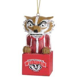 Wisconsin Badgers Mascot Ornament