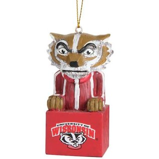 Evergreen Enterprises Wisconsin Badgers Mascot Ornament