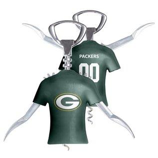 Boelter Brands LLC Green Bay Packers Winged Jersey Bottle Opener
