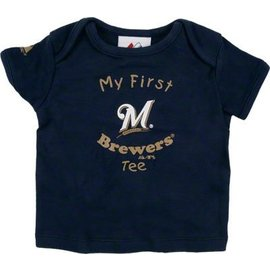 Milwaukee Brewers youth My First short sleeve tee