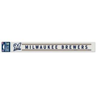 WinCraft, Inc. Milwaukee Brewers Perfect Cut 2x17 Decal