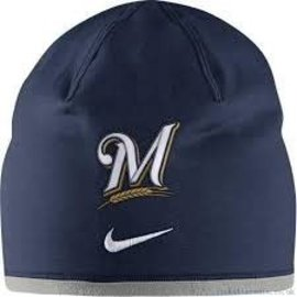 Nike Milwaukee Brewers Reversible Beanie Hat