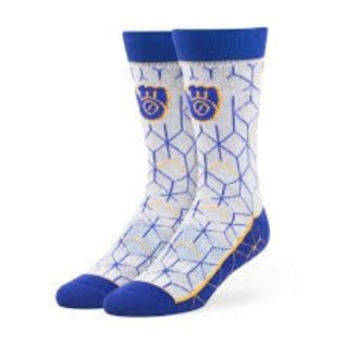 '47 Brand Milwaukee Brewers Beehive tall sock - size Large