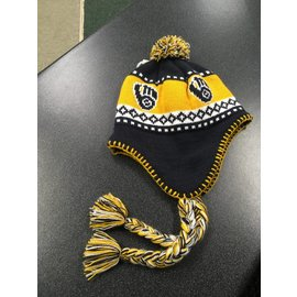 Milwaukee Brewers Ball and Glove Tassel hat 1c1dfb47032b