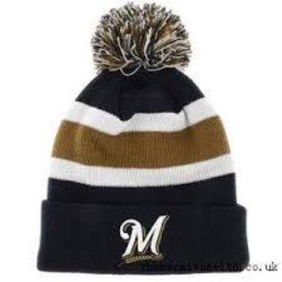 '47 Brand Milwaukee Brewers Navy Breakaway Knit Hat