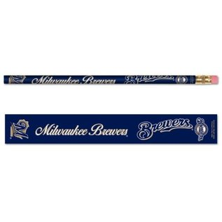 WinCraft, Inc. Milwaukee Brewers 6 pack of pencils