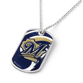 Milaukee Brewers Dynamic Dog Tag Necklace
