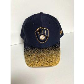 Milwaukee Brewers 9-40 Visor Blur Adjustable Hat