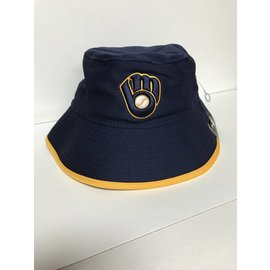 Milwaukee Brewers Hex Team Bucket Hat c4bc849e41e6