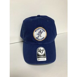 Milwaukee Brewers 47 Cooperstown Clean Up Adjustable Hat