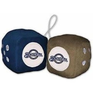 Fremont Die Milwaukee Brewers fuzzy dice