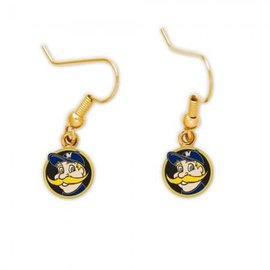WinCraft, Inc. Milwaukee Brewers dangle earrings - Bernie Brewer