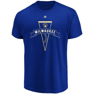 Milwaukee Brewers Men's Around The League Short Sleeve Tee