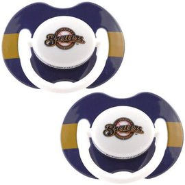Milwaukee Brewers 2 pack pacifiers