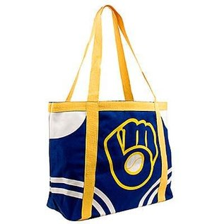 Little Earth Milwaukee Brewers Canvas Tote Bag