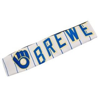 Little Earth Milwaukee Brewers Jersey Fanband