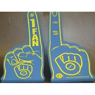 Rico Industries, Inc. Milwaukee Brewers #1 Hand Foam Finger