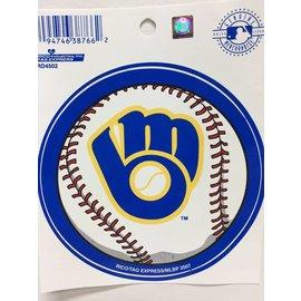 Milwaukee Brewers baseball decal