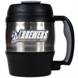 Great American Products, LTD Milwaukee Brewers 20oz Barrel mug