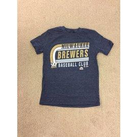 Milwaukee Brewers Youth Curve Ball Short Sleeve Tee