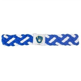 Milwaukee Brewers Braided Headband