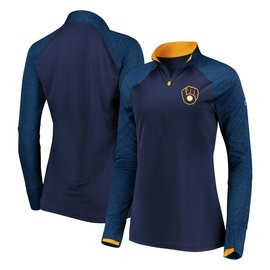 Milwaukee Brewers Women's Extremely Clear 1/4 Zip