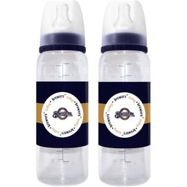 Baby Fanatics Milwaukee Brewers Baby Bottles: 2 Pack