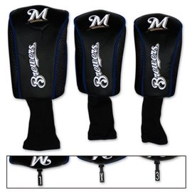 WinCraft, Inc. Milwaukee Brewers Mesh 3 Pack Headcovers