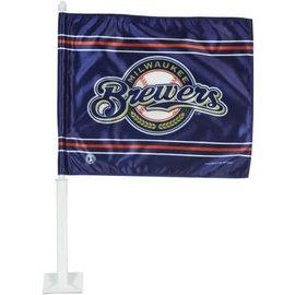 Milwaukee Brewers Circle Logo Car Flag