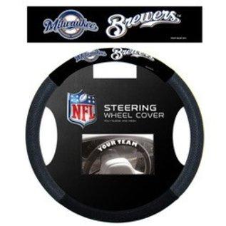 Fremont Die Milwaukee Brewers Poly-Suede Steering Wheel Cover
