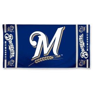 WinCraft, Inc. Milwaukee Brewers Beach towel