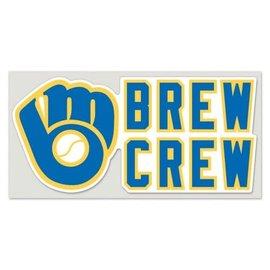 Milwaukee Brewers 4x8 Perfect Cut Brew Crew Decal