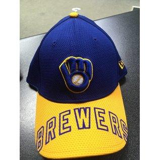 New Era Milwaukee Brewers 39-30 Viza Trim Hat